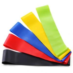 Multi Colors 2021 Best Resistance bands Latest Exercise TPE Bands Chinese Factory Direct Wholesale