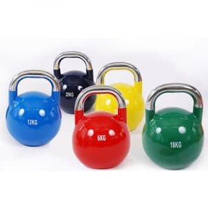 2021 Custom White Label Colorful Kettlebells Gym Workout Fitness Equipment training weightlifting Cast Iron Kettlebells