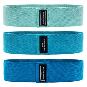 60-120LBs Anti-Slip Elastic Hip Resistance Bands Exercise Loop Bands, Booty Hip Bands, Best Gym Equipment Bands for Legs and Butt