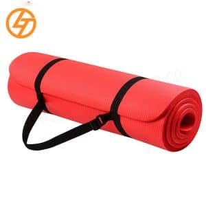 Factory Direct Sale 2021 New Style Eco Friendly NBR Yoga Mat for Fitness and Exercise