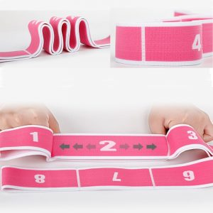 yoga straps with loops details-2