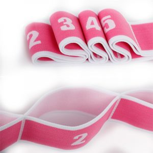 yoga straps with loops details-3